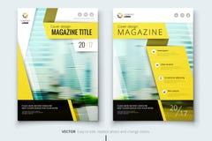 Diseño de la cubierta, del folleto o del aviador del informe anual del negocio corporativo Presentación del prospecto Catálogo co Fotos de archivo libres de regalías