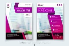 Diseño de la cubierta, del folleto o del aviador del informe anual del negocio corporativo Presentación del prospecto Catálogo co Fotografía de archivo libre de regalías