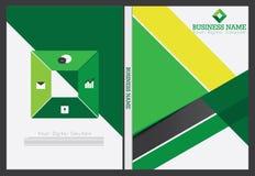 Diseño de la cubierta del informe anual Imágenes de archivo libres de regalías
