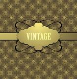 Diseño de la cubierta del vintage Imagenes de archivo