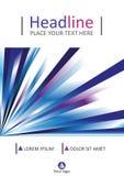 Diseño de la cubierta A4 Vector Fotografía de archivo libre de regalías