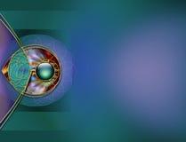Diseño de la disposición del fondo Imagen de archivo libre de regalías