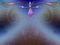 Diseño de la disposición del fractal del fondo de la foto Foto de archivo