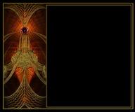 Diseño de la disposición del fractal del fondo de la foto Fotografía de archivo libre de regalías