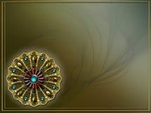 Diseño de la disposición del fractal del fondo de la foto Imágenes de archivo libres de regalías