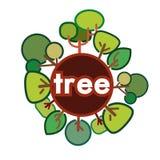 Diseño de la ecología Imágenes de archivo libres de regalías
