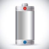 Diseño de la energía de la batería Fotos de archivo libres de regalías