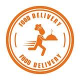 Diseño de la entrega de la comida ilustración del vector