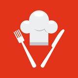 Diseño de la entrega de la comida stock de ilustración