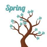 Diseño de la estación de primavera Imagenes de archivo