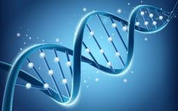 Diseño de la estructura de la DNA ilustración del vector