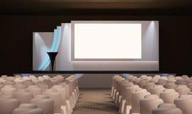 Diseño de la etapa Foto de archivo
