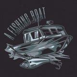 Diseño de la etiqueta de la camiseta Fotografía de archivo
