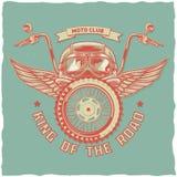 Diseño de la etiqueta de la camiseta Foto de archivo