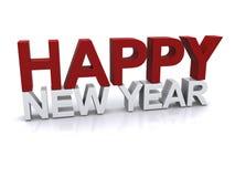 Diseño de la Feliz Año Nuevo Fotos de archivo