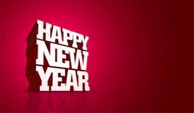Diseño de la Feliz Año Nuevo del vector libre illustration