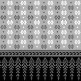 Diseño 002 de la frontera stock de ilustración