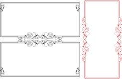 Diseño de la frontera del marco Imagen de archivo