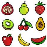 Diseño de la fruta Imagen de archivo