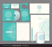 Diseño de la identidad corporativa Fotografía de archivo libre de regalías