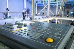 Diseño de la iluminación de la etapa. Fotos de archivo