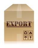 Diseño de la ilustración del rectángulo de la exportación Fotos de archivo