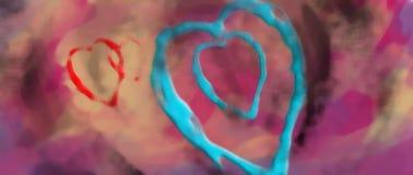diseño de la imagen del amor Fotografía de archivo