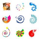 Diseño de la insignia Imagenes de archivo