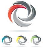Diseño de la insignia del asunto Foto de archivo libre de regalías