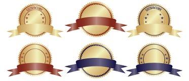 Diseño de la insignia del vector stock de ilustración