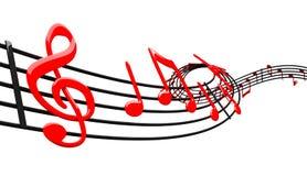 Diseño de la música ilustración del vector