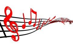 Diseño de la música stock de ilustración
