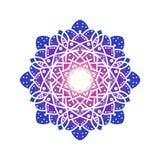 Diseño de la mandala para el ornamento y la decoración del fondo Imagenes de archivo