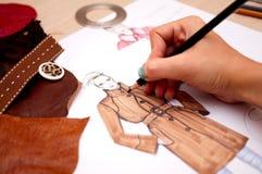 Diseño de la manera Imágenes de archivo libres de regalías