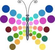 Diseño de la mariposa libre illustration