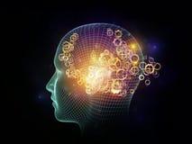 Diseño de la mente Imagen de archivo libre de regalías