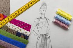 Diseño de la moda Fotografía de archivo libre de regalías