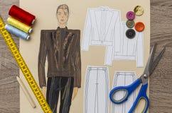 Diseño de la moda Imágenes de archivo libres de regalías