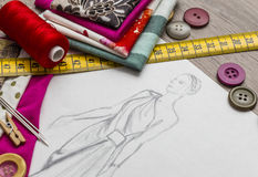 Diseño de la moda Imagen de archivo
