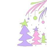 Diseño de la Navidad Fotografía de archivo