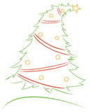 Diseño de la Navidad Fotografía de archivo libre de regalías