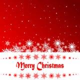 Diseño de la Navidad Fotos de archivo