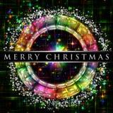 Diseño de la Navidad del color del arco iris Foto de archivo