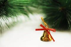 Diseño de la Navidad en el fondo del naturak Fotografía de archivo libre de regalías