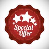 Diseño de la oferta especial Foto de archivo