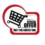 Diseño de la oferta especial Imagen de archivo