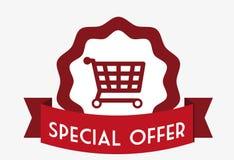 Diseño de la oferta especial Fotografía de archivo libre de regalías