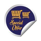 Diseño de la oferta especial Imágenes de archivo libres de regalías