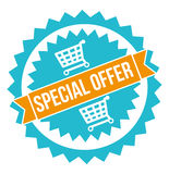 Diseño de la oferta especial Fotos de archivo libres de regalías
