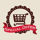 Diseño de la oferta especial Fotos de archivo